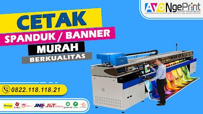 Cetak Spanduk Banner Digital Printing