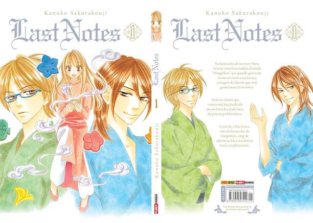 Checklist Shoujo/Josei - Julho de 2017 - Capa Completa de Last Notes (Kanoko Sakurakouji)