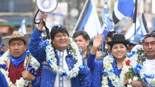 Alertan: Gobierno golpista busca proscribir al partido de Morales