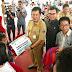 Ibadah Pra Natal JIPS, Wagub dan MSM TTN Salurkan Bantuan Kepada Korban Bencana