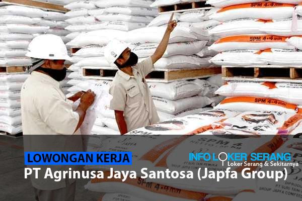 Lowongan Kerja Staff Logistisk PT Agrinusa Jaya Santosa (Japfa Group) Tangerang