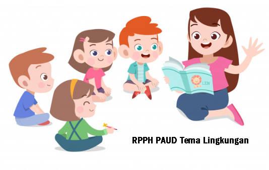 RPPH PAUD Tema Lingkungan