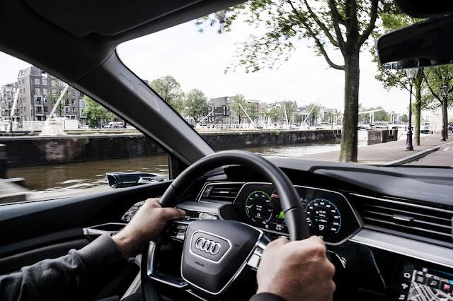 Audi e-Tron: SUV elétrico roda 10 países em 24 horas em teste de autonomia