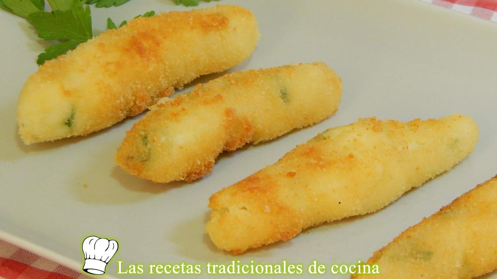 Receta Fácil De Croquetas Muy Cremosas De Patata Y Queso Sin Bechamel