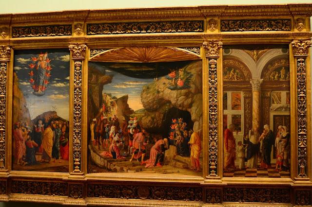 Mantegna - Triptyque de la vie du Christ - 1463