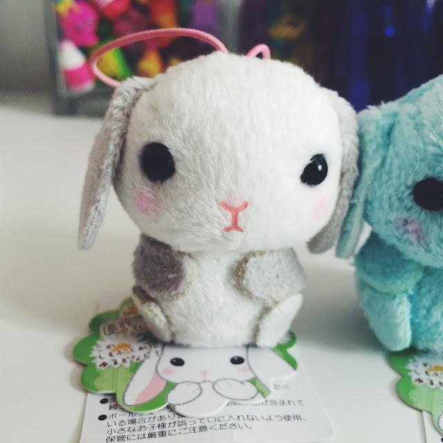 Poteusa Loppy Bunny Plush Charm