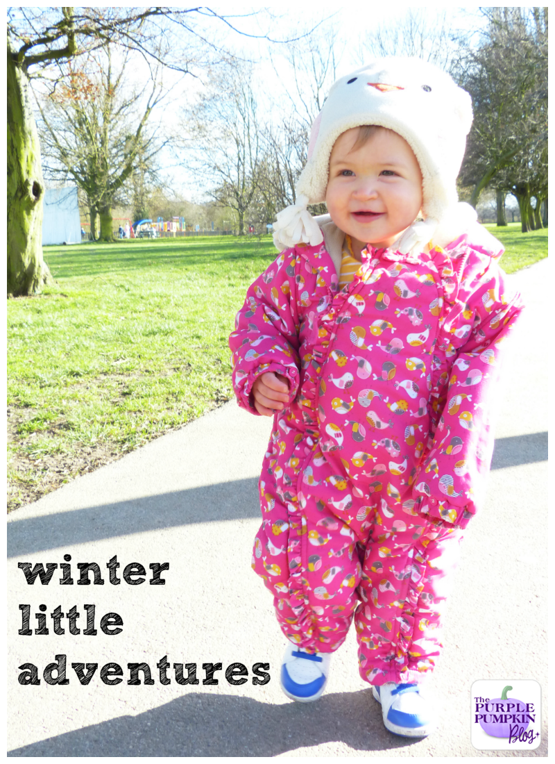 Winter #LittleAdventures - Fun In The Park!
