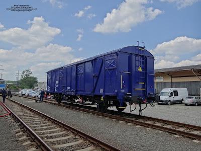 Wagon kryty serii Gbgkks, Czech Raildays 2018