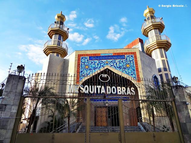 Fachada da Mesquita do Brás - São Paulo
