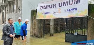 MDMC Jepara Buka Dapur Umum, Banjir Desa Dorang Jepara