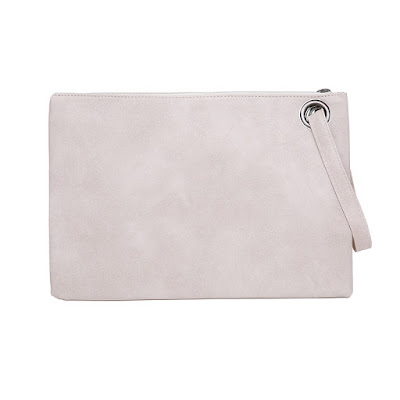 Medium clutch bag available in 9 colours
