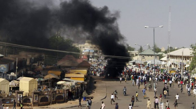 Female Suicide Bombers Die In Failed Borno Mosque Attack