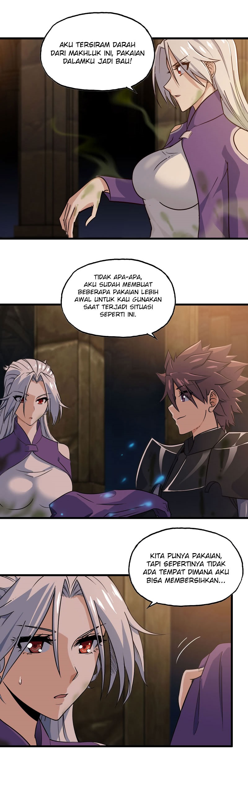 My Wife is a Demon Queen Chapter 166-185