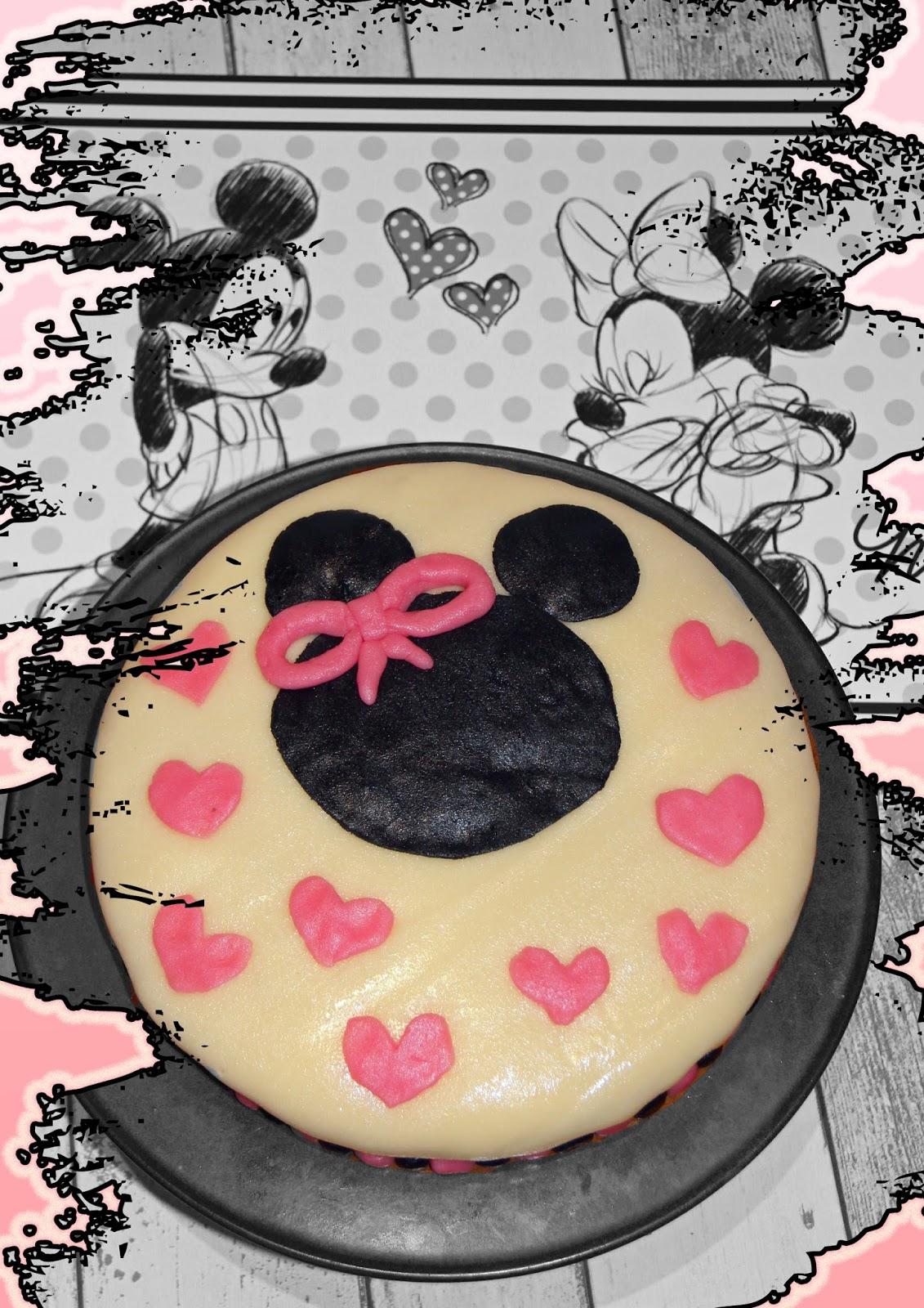 Minnie Maus Torte Das Backschaaf