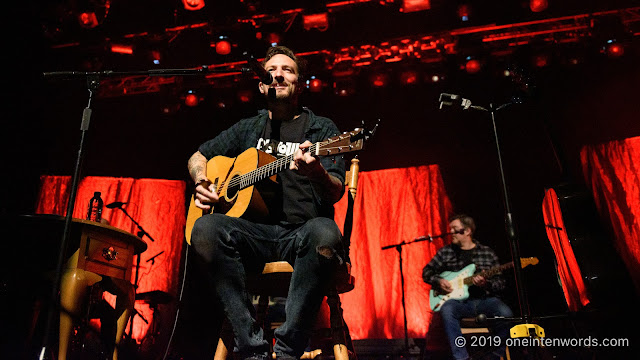 Frank Turner and The Sleeping Souls at The Queen Elizabeth Theatre on October 10, 2019 Photo by John Ordean at One In Ten Words oneintenwords.com toronto indie alternative live music blog concert photography pictures photos nikon d750 camera yyz photographer