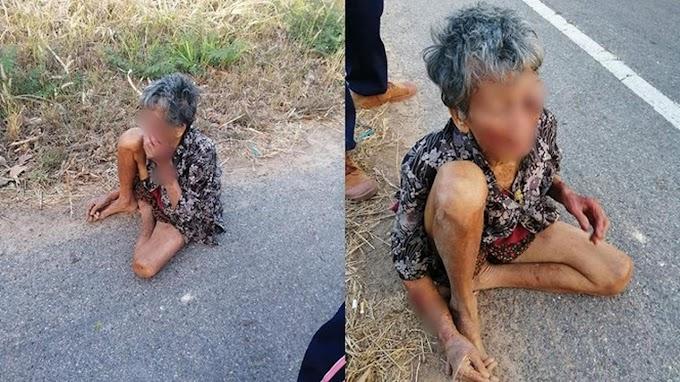 Miris, Pria Ini Siksa dan Biarkan Sang Nenek Tidur di Jalan