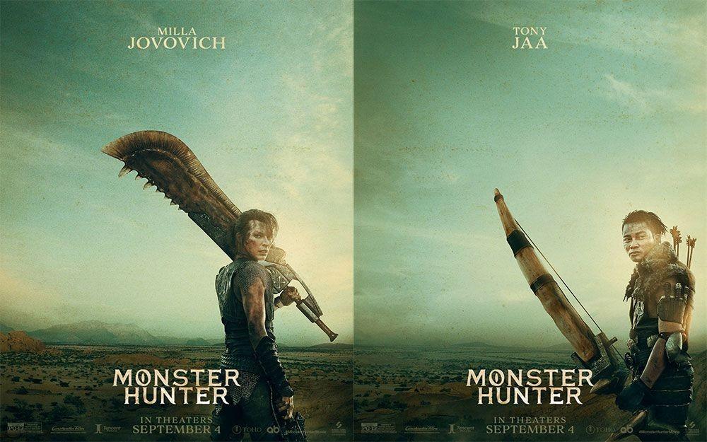 Diadaptasi Jadi Film, Monster Hunter Ungkap Poster Milla Jovovich