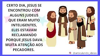 Jesus se encontrou com alguns judeus