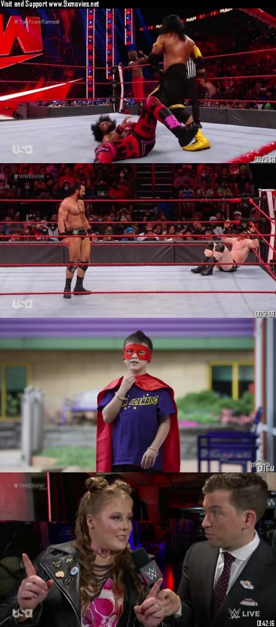WWE Monday Night Raw 06 September 2021 HDTV 720p 480p 500MB