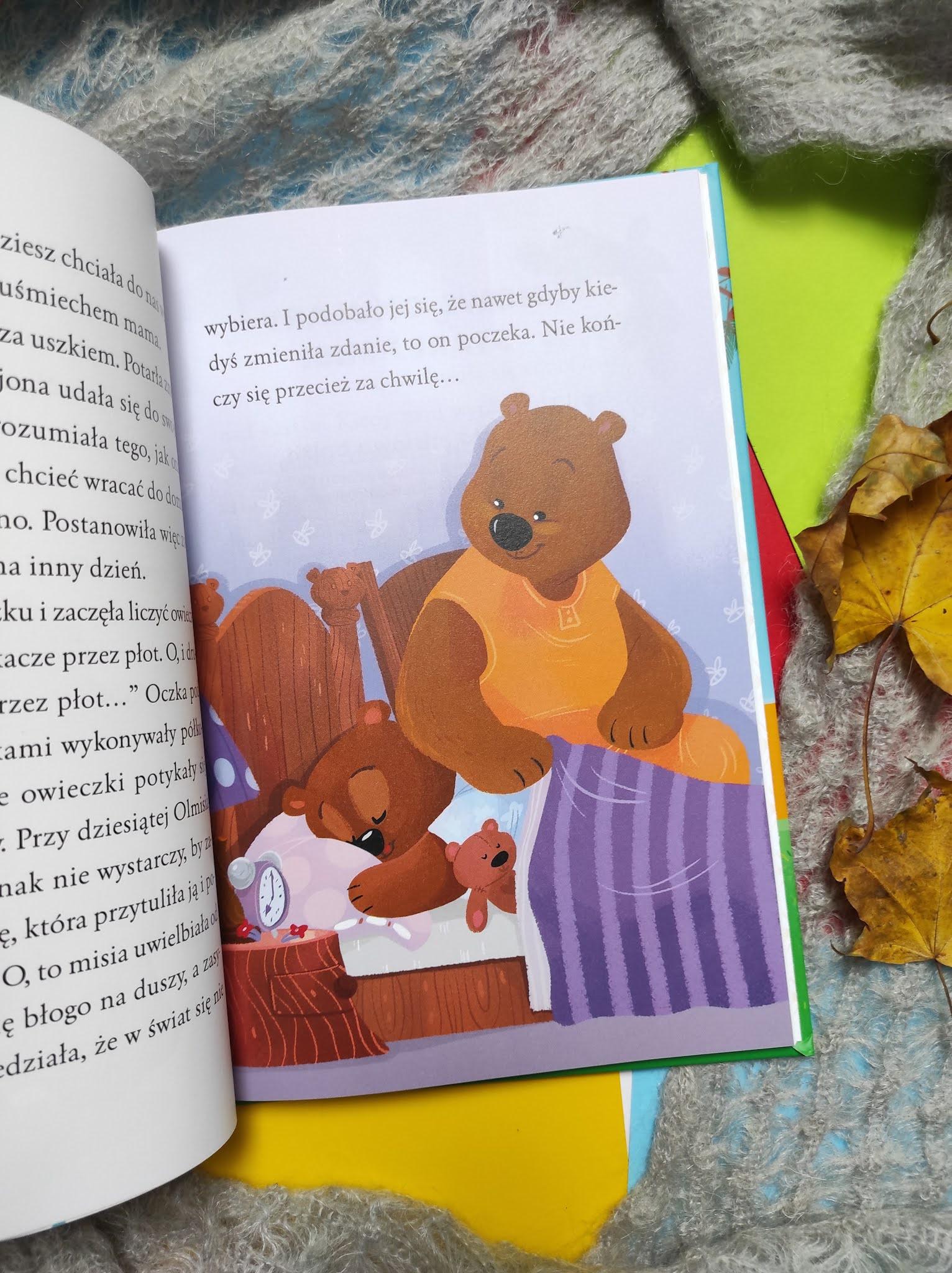 """EDU czytajki """" Niedźwiedzi świat Olmisi """" Bożena Bobrzyk - Stokłosa"""