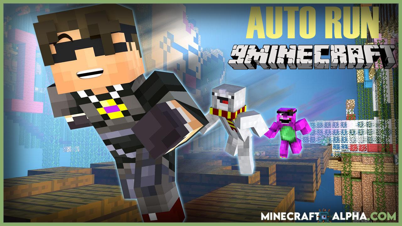Minecraft Auto Run Mod 1.12.2 (Hotkey for Autorun)
