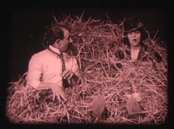 Chester Conklin and Marie Prevost in His Hidden Purpose