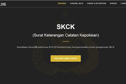 Syarat Dan Cara Membuat SKCK Online Terbaru