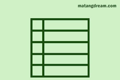 Cara Membuat Tabel di Postingan Blogger Menggunakan Microsoft Word