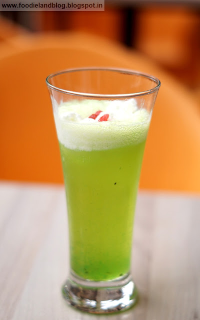 Kiwi float @ Stuffd | Indiranagar | Bangalore