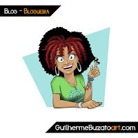 Mascote de Blog