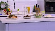 برنامج عمايل إيديا 2-9-2016 طريقة عمل صدور بط بالبهارات - شعيرية بالكبد - سلطة دجاج بالسمسم - حلويات بيروت مع نورا السادات