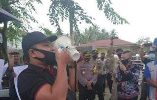 Buntut Dilarang Meliput Pendaftaran Paslon, Wartawan Demo KPU Tanjungbalai