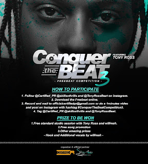 Certified PR x Tony Ross - Conquer The Beat 3 (Competition)