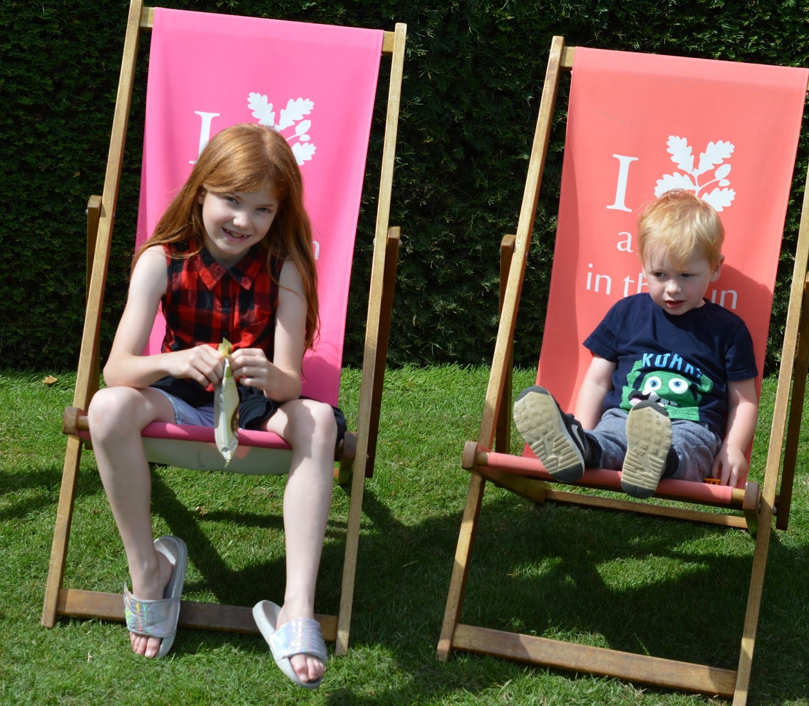 10 Reasons to Visit Seaton Delaval Hall  - deckchairs