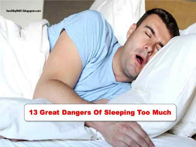 13 Great Dangers Of Sleeping Too Much