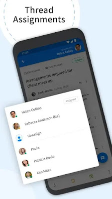 Screenshot Zoho Team Inbox - Apcoid