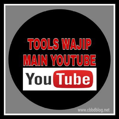 Tool wajip untuk pemain youtube pemula