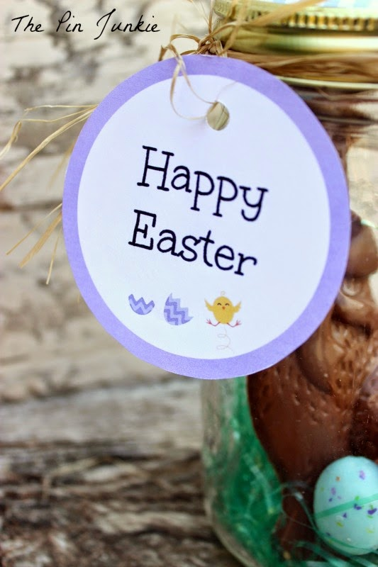 Easter printables gift tag