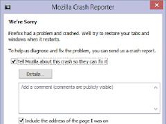 Cara Mengatasi Mozilla Crash Reporter atau Keluar Sendiri