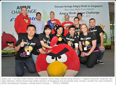 changi airport angry birds asian challenge team