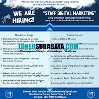 Open Recruitment at Mikisa Jaya Garment Surabaya September 2020