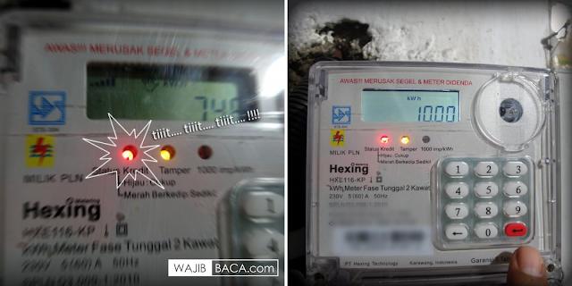 Kaget dengan Alarm Meteran Listrik yang Tiba-Tiba Bunyi? Ini Kode Reset Bahkan Matikan Bunyiny