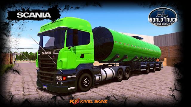 SCANIA R620 - VERDE TOP