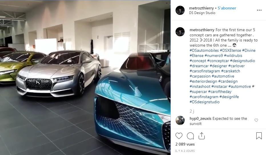 2019 - [DS Automobiles] Concept Eee