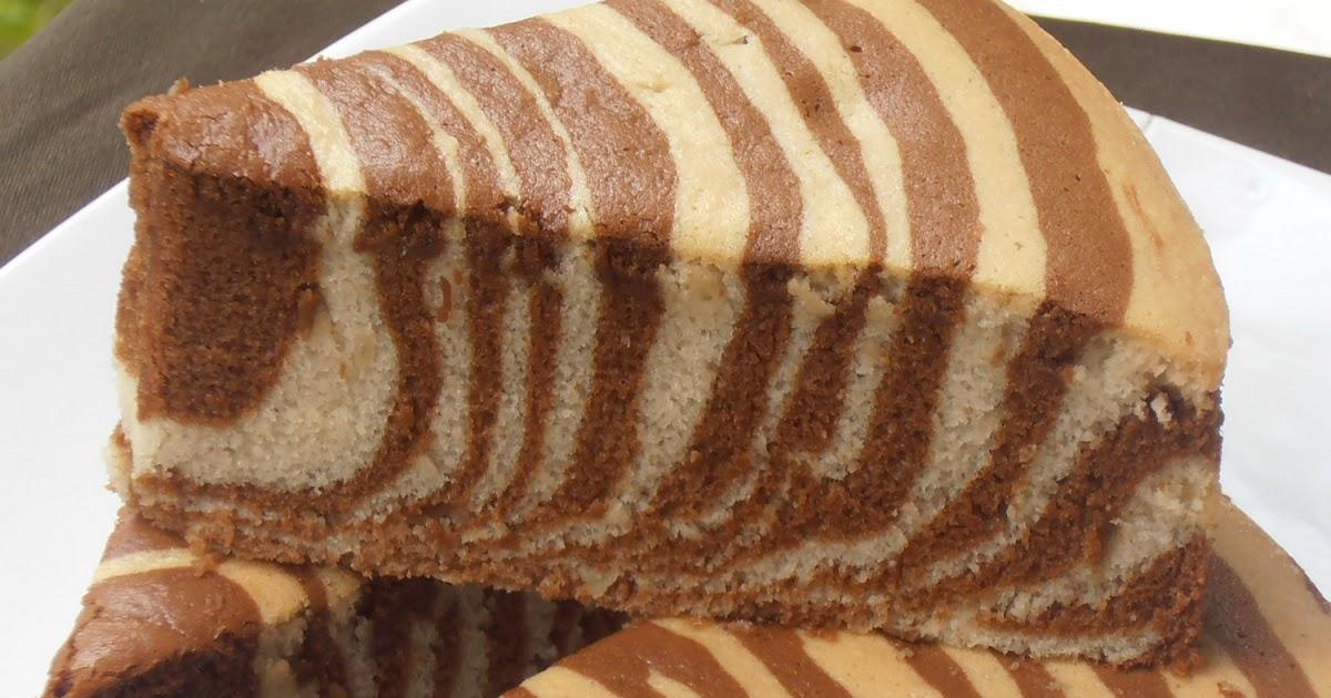 Diah Didi's Kitchen: Cake Zebra Pisang