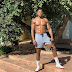 'On my journey, I fell down a couple times but I never fell off' - Anthony Joshua says as he shows his physique
