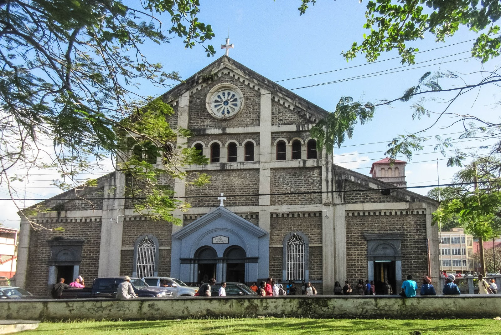 Cannundrums: Cathedral Basilica of the Immaculate Conception - Castries, St.  Lucia