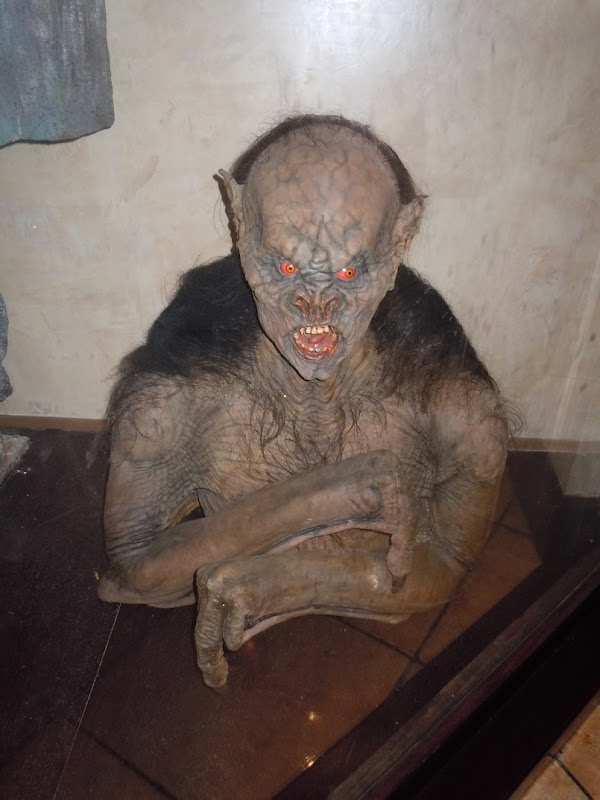 Gary Oldman bat makeup prosthetic Dracula