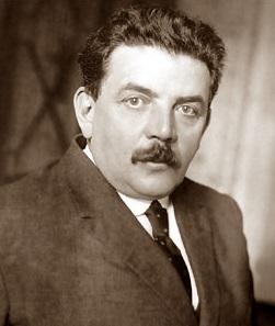 El alcalde de Lyon Édouard Herriot