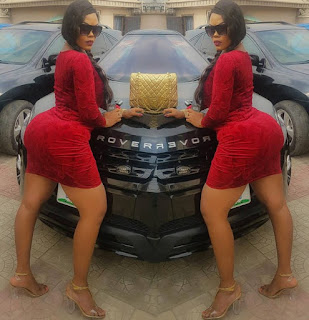 Daniella Okeke and her massive behind